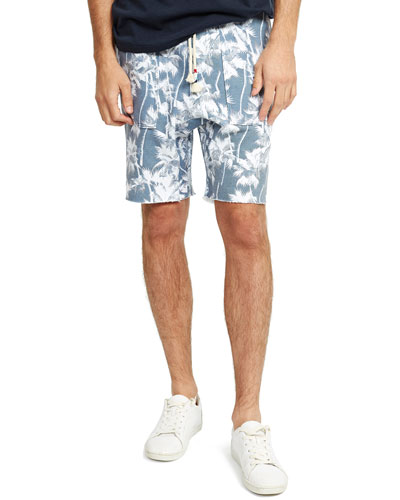 Men's Palm Saddle Shorts
