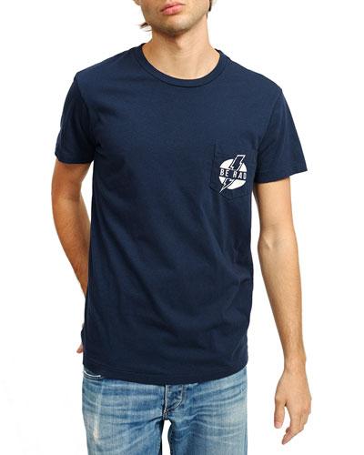 Men's Be Rad Pocket T-Shirt