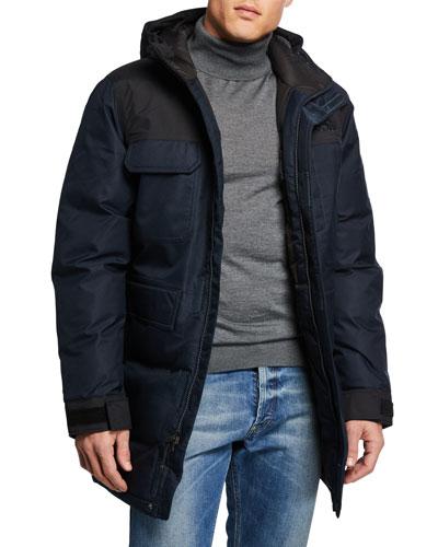 Men's Biggie McMurdo Hooded Parka Coat