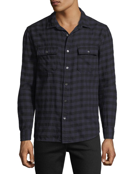 FRAME Men's Cotton Sport Shirt