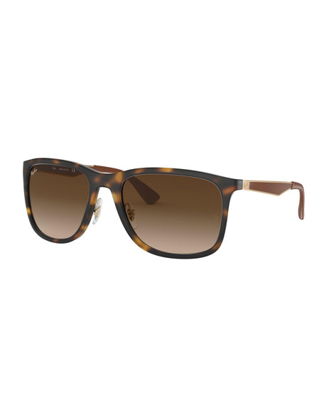 Ray-Ban Men's Square Gradient Propionate Sunglasses
