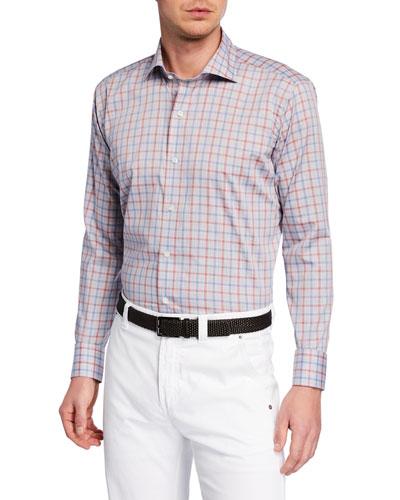 Men's Cradle Check Sport Shirt