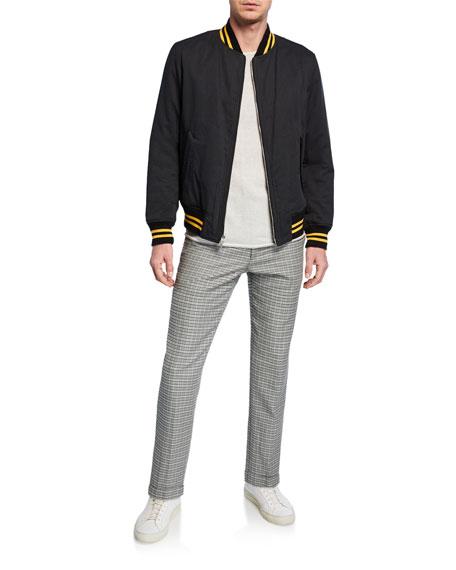 Men's Patrick Plaid Wool/Cotton Pants