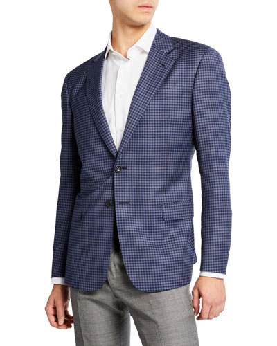 Men's Small District Check Sport Coat