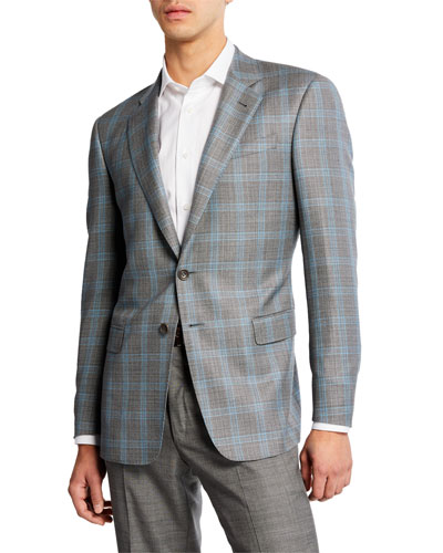 Men's Glen Plaid Sport Coat