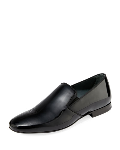 Men's Patent Leather Formal Loafers