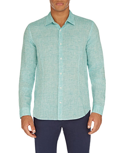 Men's Morton Tailored Linen Sport Shirt