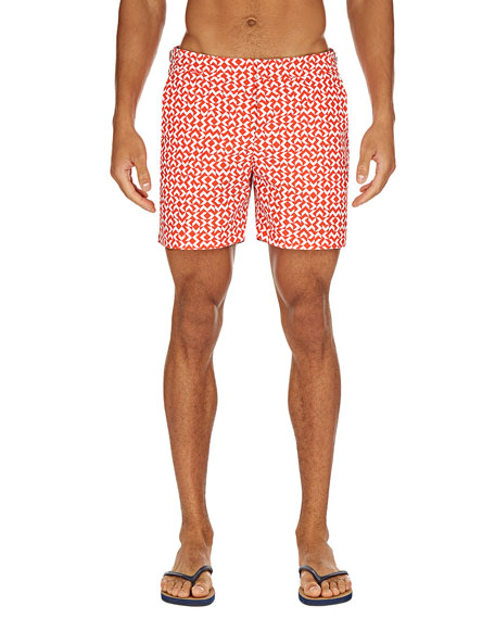 Orlebar Brown Men's Bulldog Frecce Swim Trunks