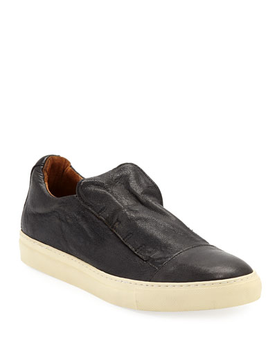 Men's Reed Laceless Low-Top Slip-On Sneakers