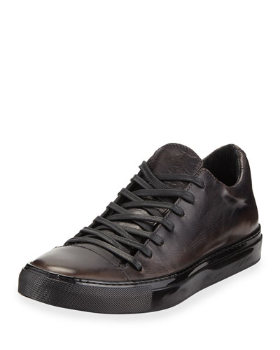 Men's Reed Low-Top Leather Sneakers