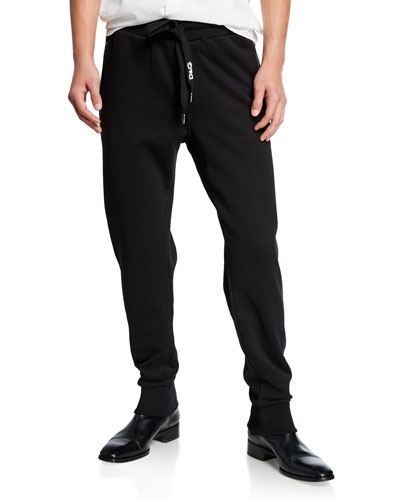 Men's Solid Cotton Sweatpants