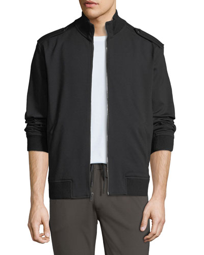 Men's Military TRANSCEND-Knit Bomber Jacket