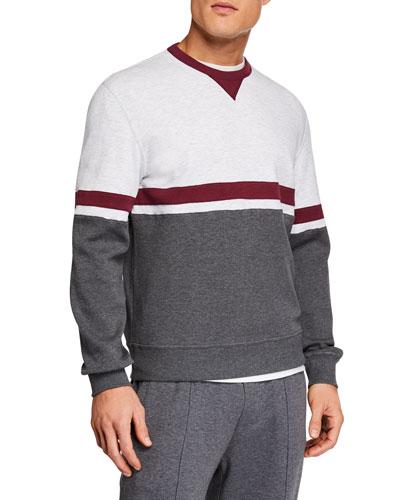 Men's Spa Colorblocked Sweater