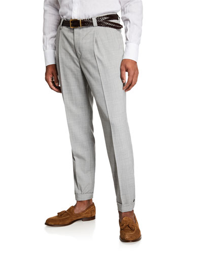 Men's Wool Dress Pants