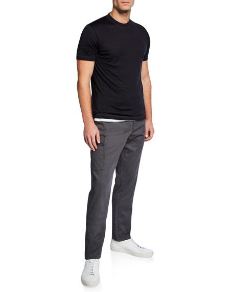 Brunello Cucinelli Men's Silk/Cotton Crewneck T-Shirt