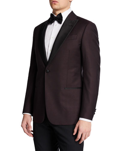 Men's Interlock Tuxedo Dinner Jacket