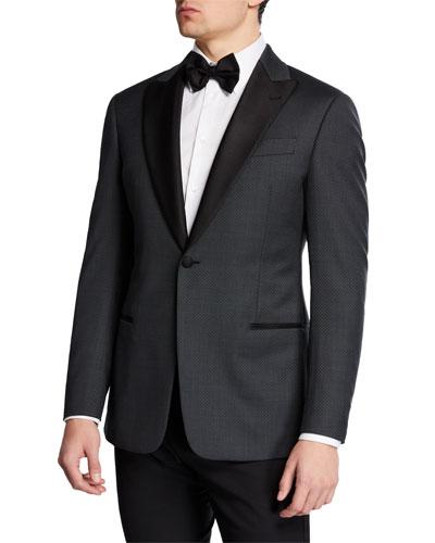 Men's Diamond Tuxedo Jacket