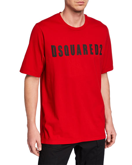 Dsquared2 Men's Logo Slouch-Fit Tee
