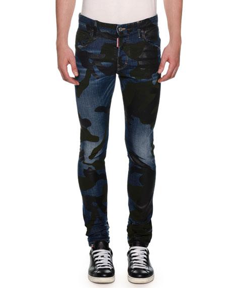 Dsquared2 Men's Camo Skater Jeans