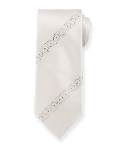 Swarovski® Crystal Silk Tie