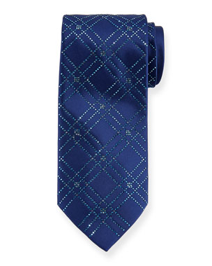 355649c3b7dd Stefano Ricci Men s Swarovski® Crystal Lattice Silk Tie