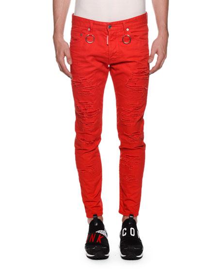 Men's Skinny Dan Rip Jeans