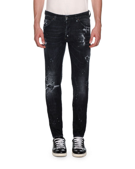 Dsquared2 Men's Cool Guy Distressed Jeans