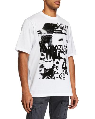 Men's Disco Graphic T-Shirt