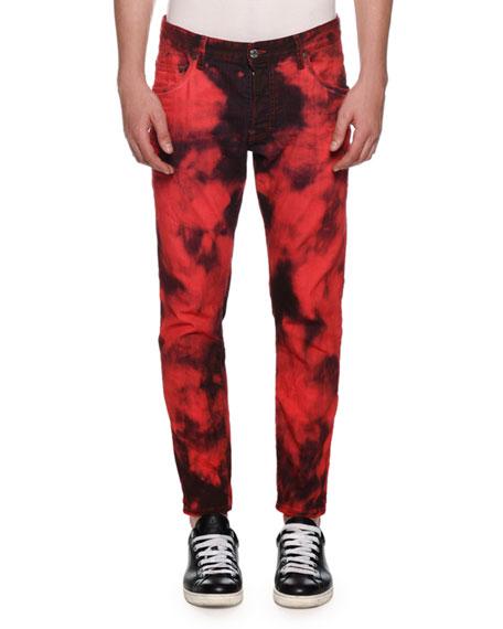 Dsquared2 Men's Tie-Dye Skater Jeans