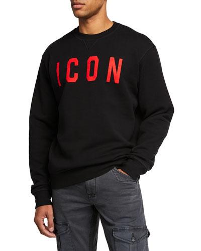 Men's E Icon Logo Sweatshirt
