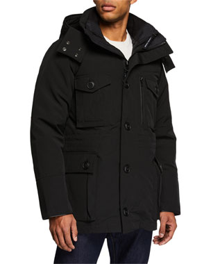 Canada Goose Men s Drummond 3-in-1 Parka Coat be34b33ad55