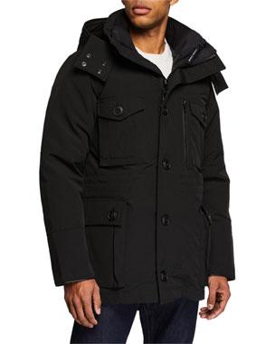 Canada Goose Men's Drummond 3-in-1 Parka Coat