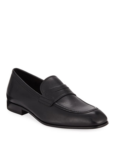 Men's Alred Leather Penny Loafers