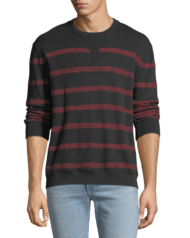 aa18e77a6 ATM Anthony Thomas Melillo Men s Broken Striped Sweatshirt