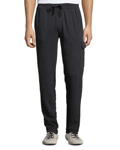Men's Washed French Terry Lounge Pants