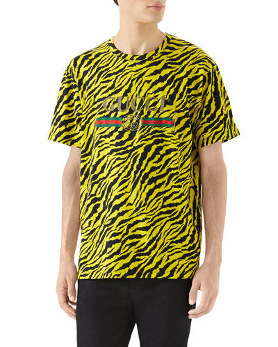 Men's Tiger Logo T-Shirt