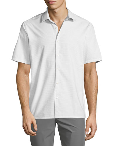 Men's Tick Shirting Irving Sport Shirt
