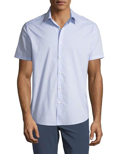 Men's helix Print Sport Shirt