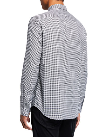 Theory Men's Brushed Gingham Irving Long-Sleeve Sport Shirt