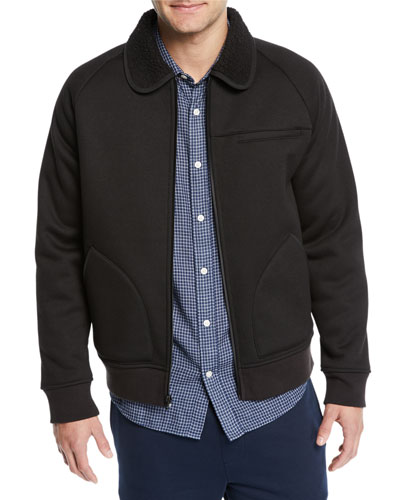 Men's Bonded Sherpa Bomber Jacket