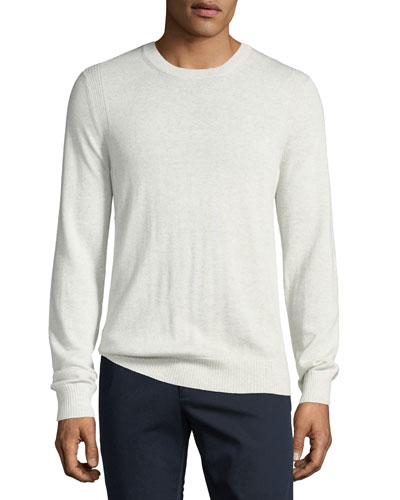 Men's Crewneck Wool Sweater