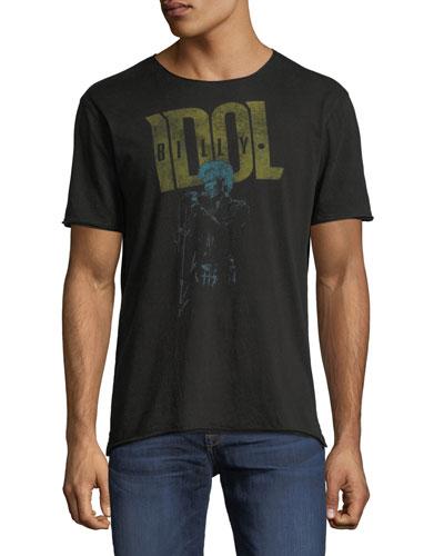 Men's Billy Idol Band T-Shirt