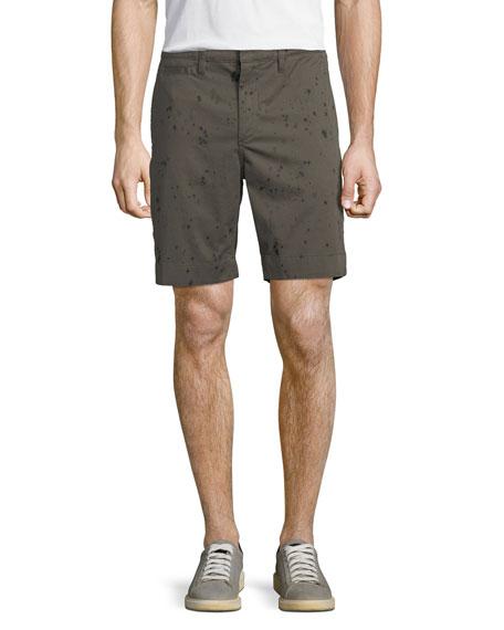 John Varvatos Star USA Men's Inkdrop-Print Shorts