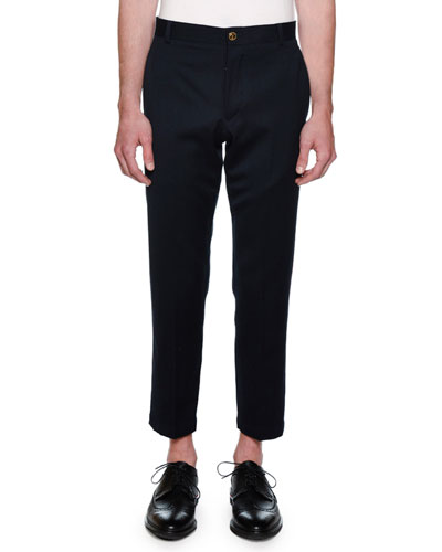 Men's Straight-Fit Unconstructed Chino Pants