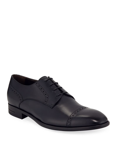 Men's New Flex Cap-Toe Derby Shoes
