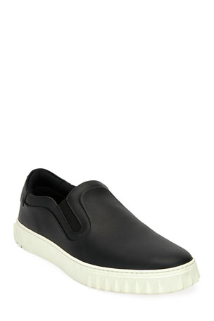 Salvatore Ferragamo Men's Cruise Slip-On Skater Sneaker