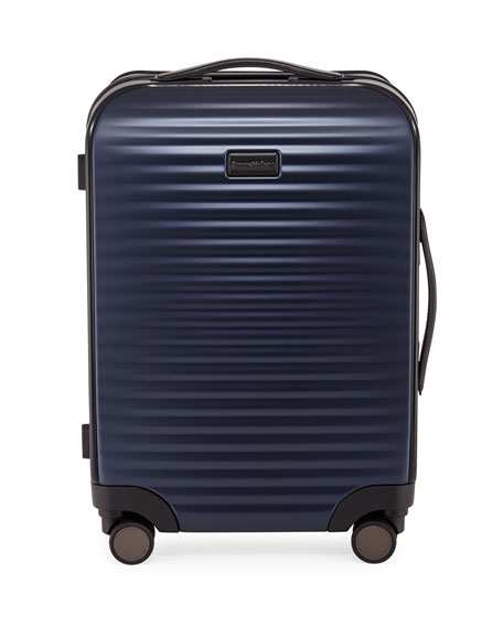 Men'S Leggerissimo Hard-Side Trolley Spinner Luggage in Blue