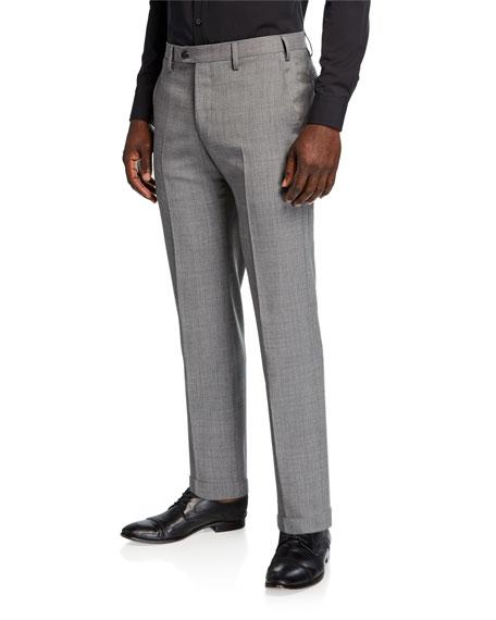 Giorgio Armani Men's Classic Wool Trouser Pants