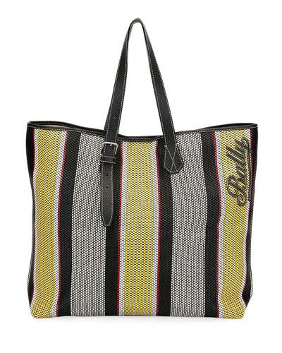 Men's Phoenix Striped Tote Bag