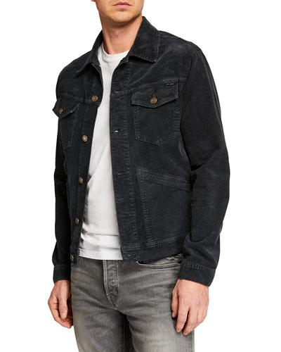 Men's Icon Corduroy Denim Jacket